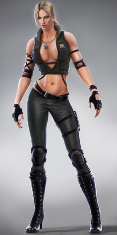 My fave Mortal Kombat fighter, Sonya Blade. Her X-Ray move in Mortal Kombat 9 is sick!