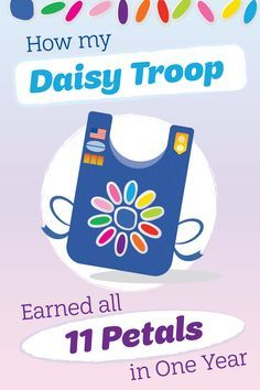 How my #Daisy #Troop Earned all 11 Petals in One Year | #GirlScouts