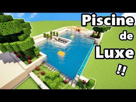 comment faire une piscine de luxe sur minecraft tutoriel minecraft servers web msw. Black Bedroom Furniture Sets. Home Design Ideas