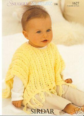 crochet pattern for childs poncho | Crochet pattern for child's poncho. – Crafts – Free Craft Patterns
