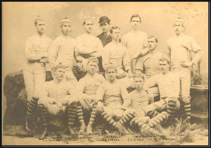 1880 University of Pennsylvania Team Photo, University of Pennsylvania University Archives