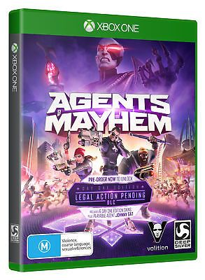 Agents Of Mayhem: Day One Edition - Xbox One game - BRAND NEW: $74.88 End Date: Monday Oct-23-2017 11:15:15 PDT Buy It Now for only: $74.88…