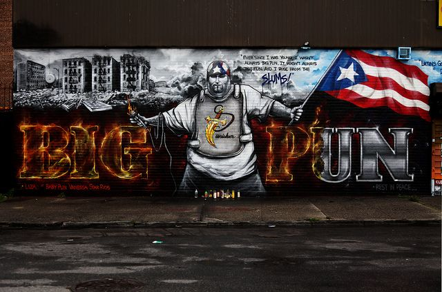 Nyc rap mural szukaj w google nyc pinterest big for Big pun mural bronx