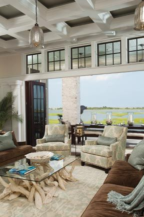 From the TV show 'Revenge'. This is the house used as The Grayson manor for the first episode. Landfall, North Carolina, a community on the Intracoastal Waterway in Wilmington. Sourced from Wrightsville Beach Magazine recently.   #ourHabitat