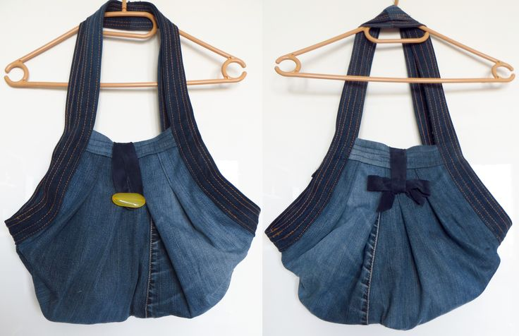 Jeans bag from pattern: https://pl.pinterest.com/pin/335166397249561854/