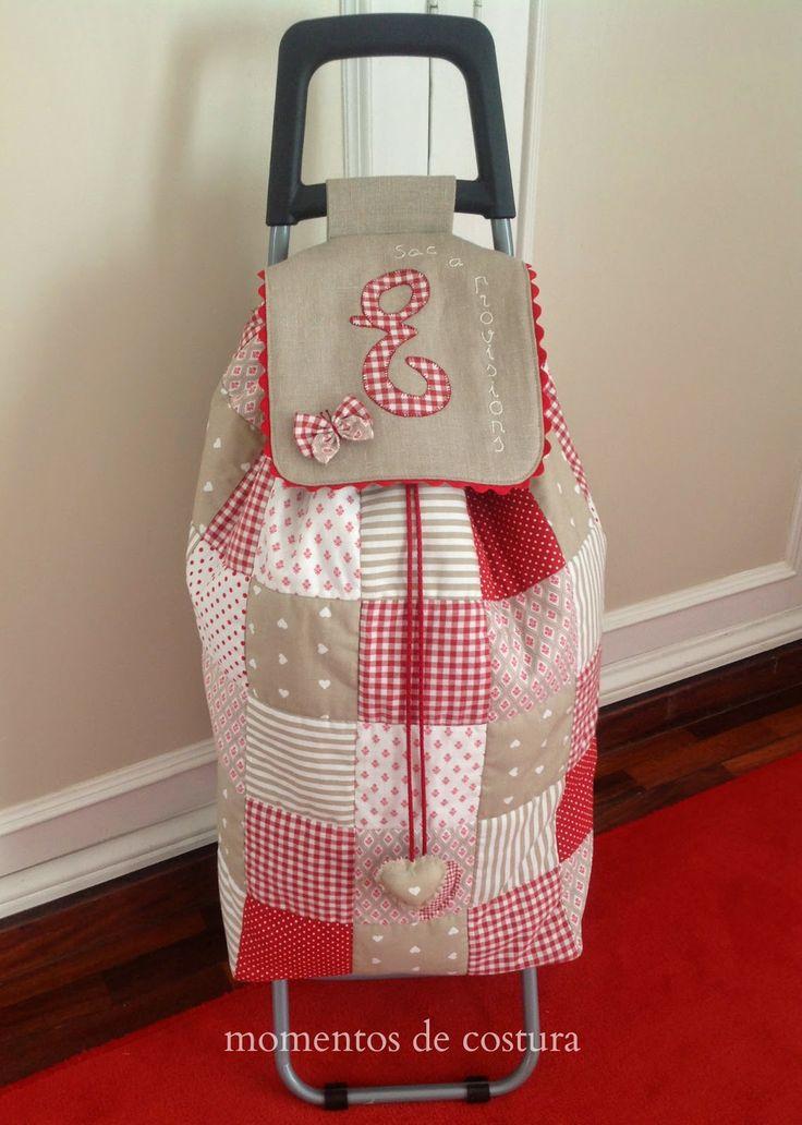 Momentos de Costura: Carrito de la compra. гениальная идея сумки на колесах. только фото