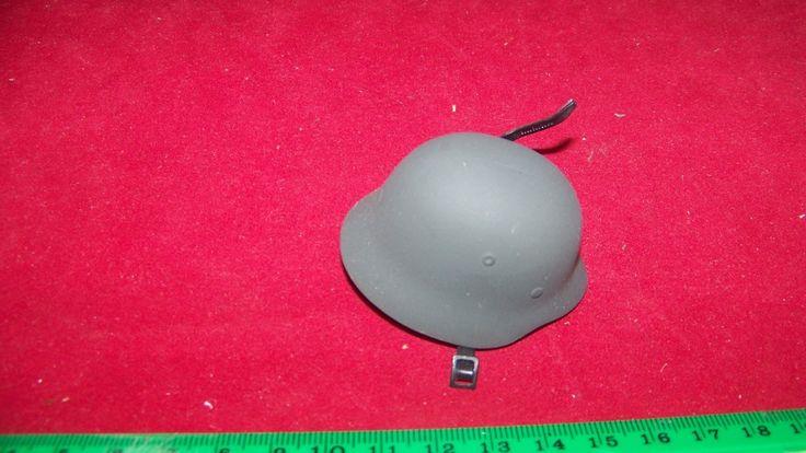 Miniature 1/6th Scale WWII Metal German Helmet #11