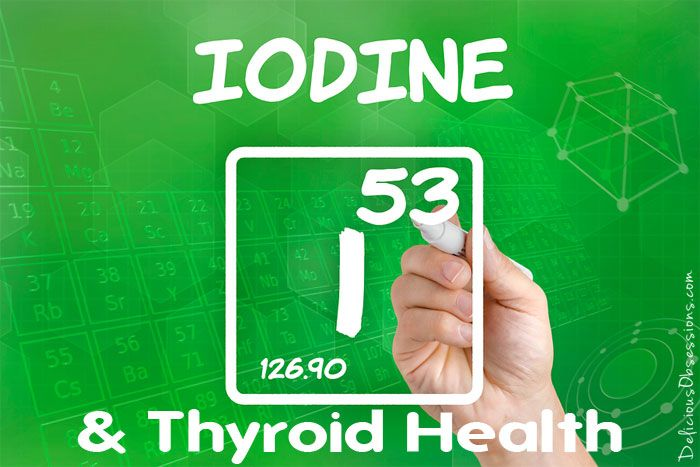 Iodine and Thyroid Health // deliciousobsessions.com