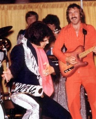 July 18, 1969 with James Burton