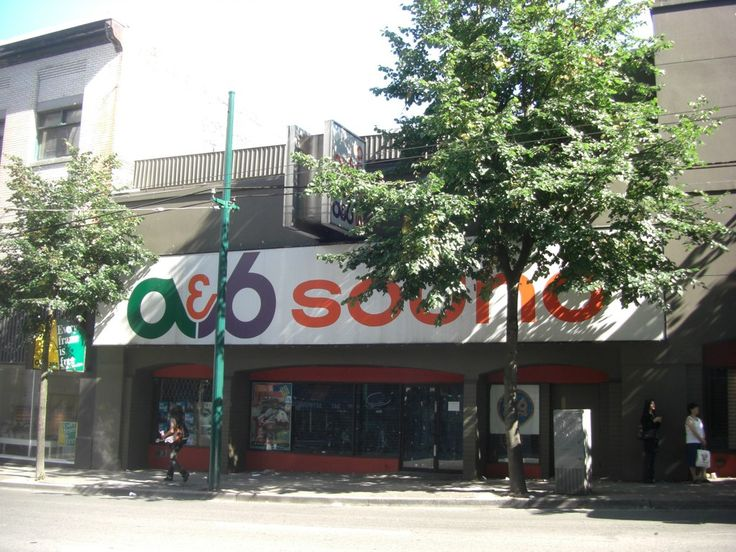 a&b sound Flagship Store 556 Seymour St. Vancouver - 2008 | by solomonkswong