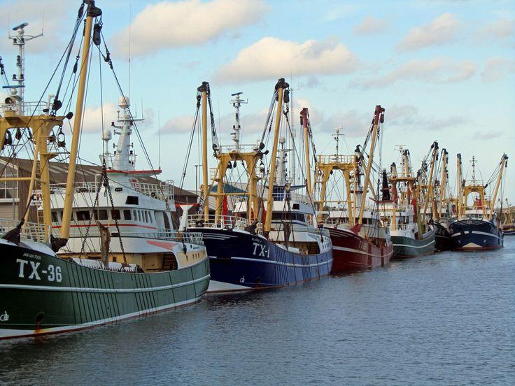 Visserijhaven Oudeschild op Texel