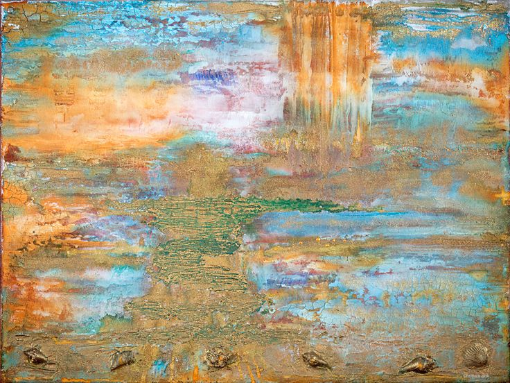 Distant Memories    #11482016   18x24  acrylic on canvas