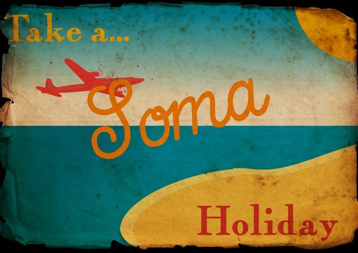 Take a Soma holiday Brave New world