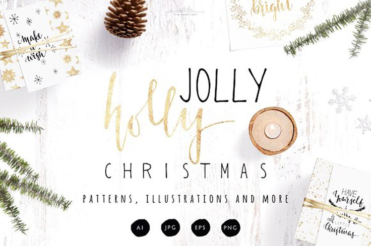 """Check out this @Behance project: """"Holly Jolly Christmas Pack by The Paper Town"""" https://www.behance.net/gallery/59111207/Holly-Jolly-Christmas-Pack-by-The-Paper-Town"""