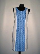 Rochie vintage alb cu albastru anii '60 REDUCERE DE 50% LA 1000 DE ARTICOLE PE VINTAGE WARDROBE http://www.vintagewardrobe.ro/cumpara/rochie-vintage-alb-cu-albastru-anii-60-7495040 #vintage #vintagewardrobe #vintageautentic #vintagedresses #rochiivintage