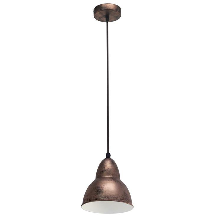 Un corp de iluminat cu o forma clasica isi va regasi oricand locul in decorul dumneavoastra. In aceasta ipostaza se regaseste si lampa suspendata cuprata din gama Dijon. Lampa are un finisaj cuprat, fiind realizata din metal. Forma abajurului este una clasica, realizata prin suprapunerea a doua semisfere, una de dimensiuni mai mici in partea superioara si una mai mare in partea inferioara.