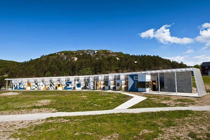 The SUB-Hotel Stokkøya - Sor-Trondelag, Noruega - 2009 - Pir II