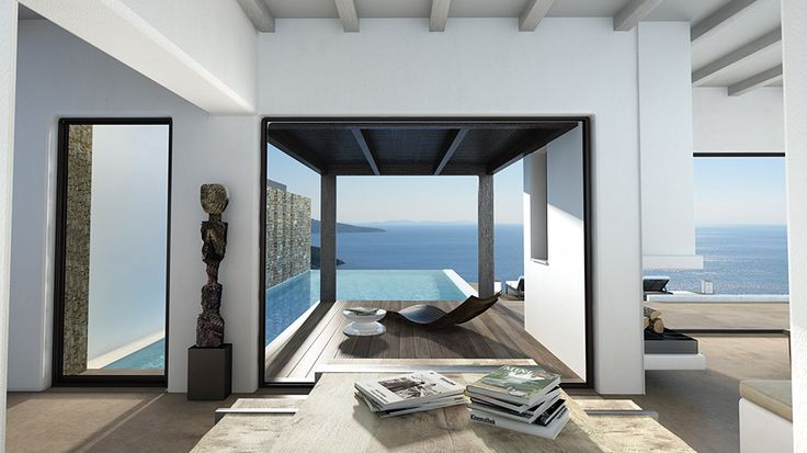 Summer house in Tinos #summerhouse #greece #architecture #interiordesign #interior #ideas #design #mediterranean Learn more: http://kontodimas.com/projects_s12.html