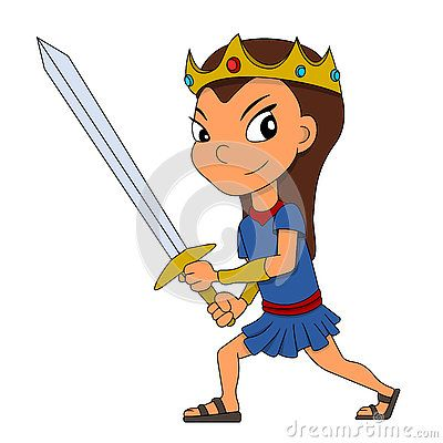 Warrior Princess Cartoon - Download From Over 61 Million High Quality Stock Photos, Images, Vectors. Sign up for FREE today. Image: 79614291