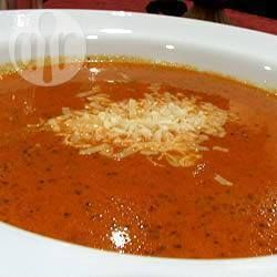 Romige tomatensoep