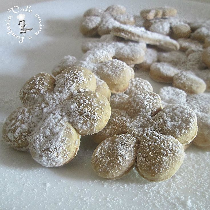 Biscottini con ricotta e nutella ~ Biscuits with ricotta and nutella