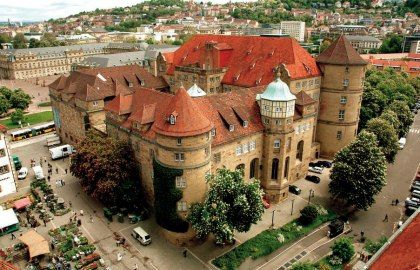 Altes Schloss Stuttgart - I was born here, not quite the castle, the area though :D