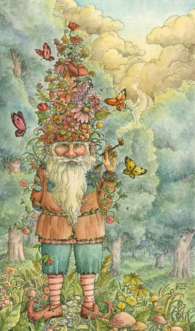 The Gnome's Garden by ~cgb30