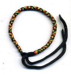 Pulsera artesanal Rastafari