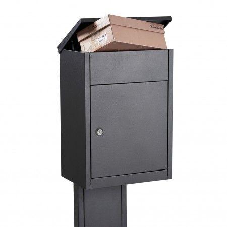 Type 500 brievenbus Allux antraciet | Musthaves verzendt gratis