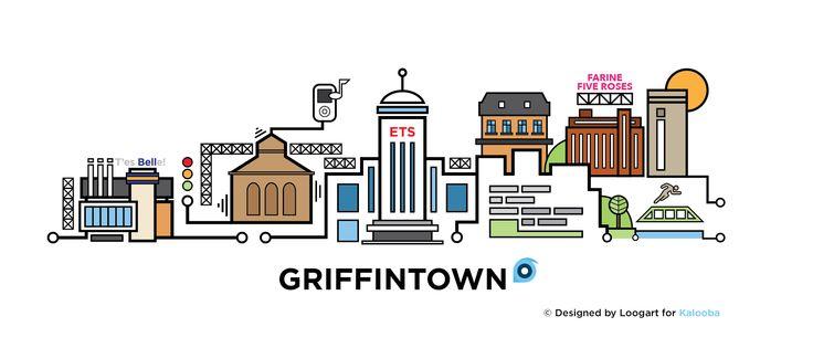 Griffintown Cityline by Loogart x Kalooba