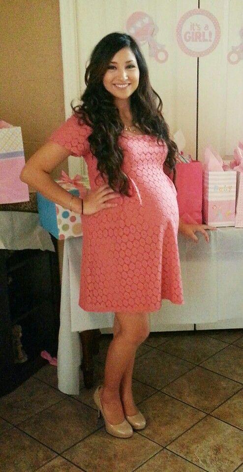 beaucute.com maternity-dress-for-baby-shower-32 #maternitydresses