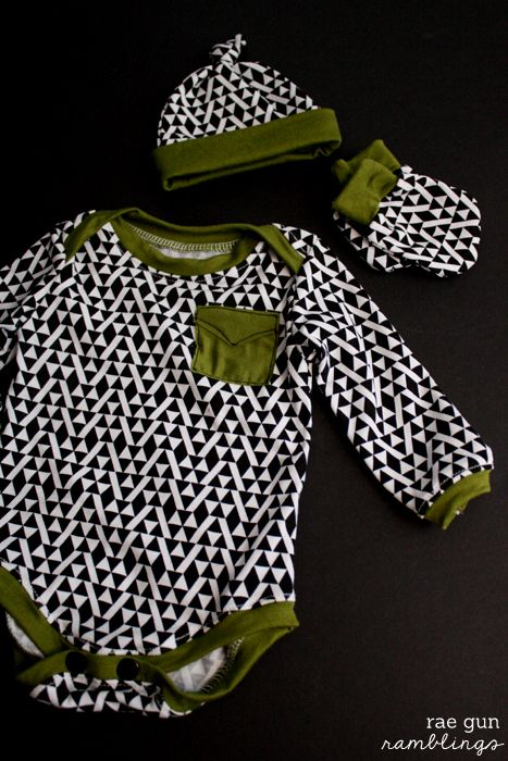 Cute clothes for baby boys, great sewing patterns and faux pocket tutorial - Rae Gun Ramblings