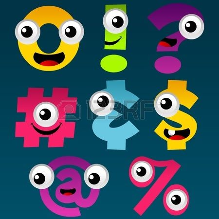 Cartoon Symbols Set 5
