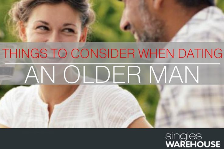 Term for dating an older man