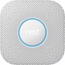 Nest Protect 2nd Generation (Battery) Smart Smoke/Carbon Monoxide Alarm White S3000BWES - Best Buy