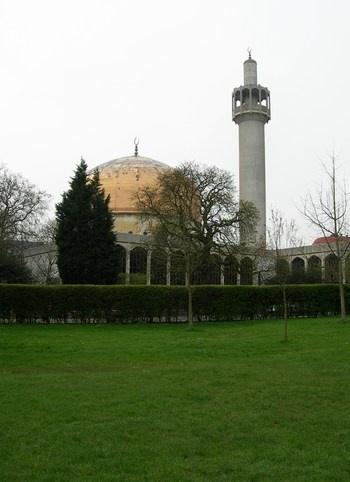 Regent's Park Mosque, London => http://www.YourLondon33.co.uk