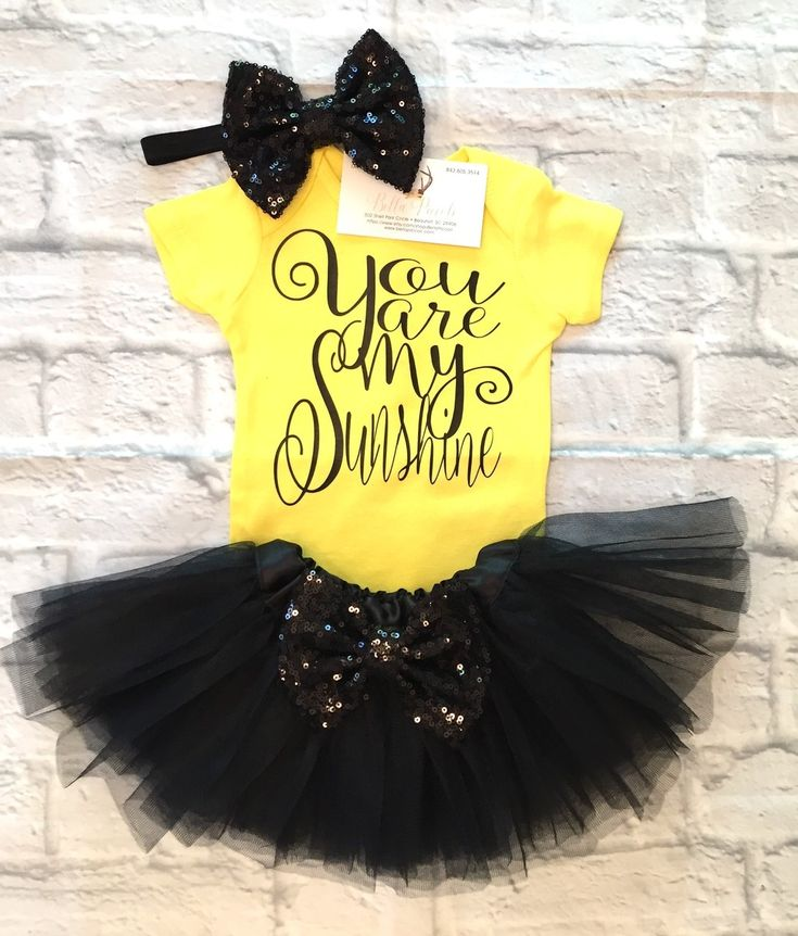 Baby Girl Clothes, You Are My Sunshine Bodysuit, You Are My Sunshine Onesie,
