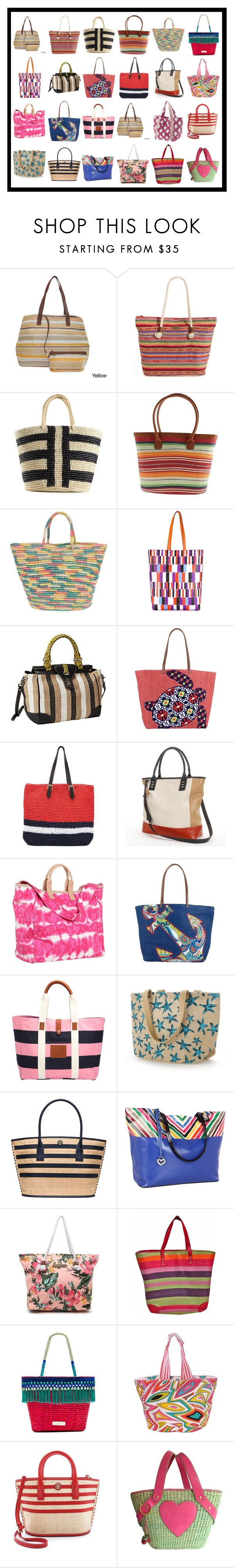 """""""Casual Totes & Straw Beach Totes #1"""" by franceseattle ❤ liked on Polyvore featuring Rip Curl, Sensi Studio, Pendleton, Emilio Pucci, Rafé New York, Vera Bradley, Marni, PAVA, Juicy Couture and Jack Wills"""