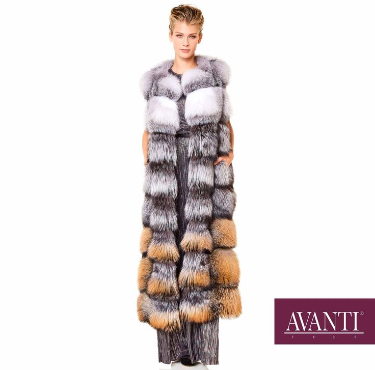 AVANTI FURS - MODEL: R3 FOX VEST   #avantifurs #fur #fashion #fox #luxury #musthave #мех #шуба #стиль #норка #зима #красота #мода #topfurexperts
