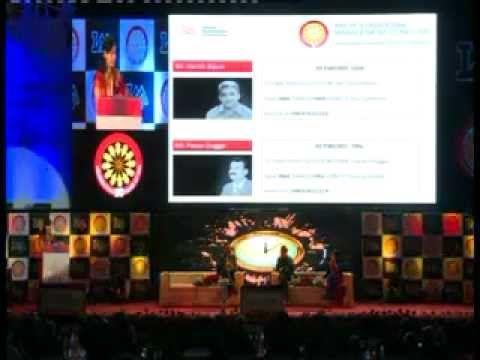 #IMA International Management Conclave 2013 : #MrHarishBijoor - Part 1