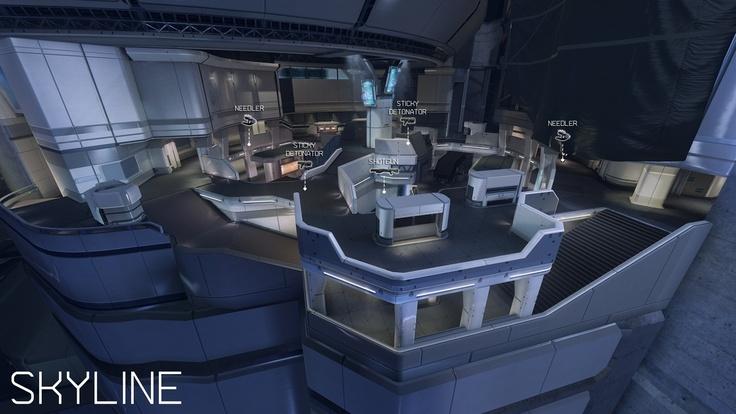 Halo 4 majestic map pack. Skyline