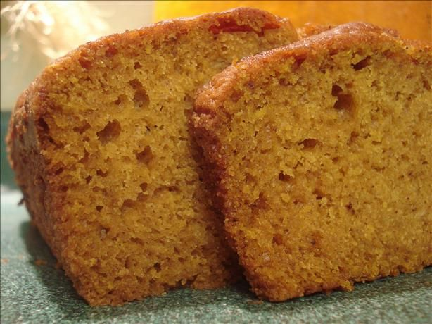 Pumpkin Spice Bread. Photo by HisPixie  I LOVE fall and this recipe screams it. This will be the perfect recipe to snack on before and after Thanksgiving. Drizzle a little glaze over the top and I'll be in heaven. It meets the 5-star/+50 review criteria perfectly with everyone loving it...can't wait to be 296! #ultimatethanksgiving