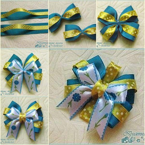 diy ribbon bows - Google Search