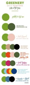 """Hi friends! With a new year comes a new Color of the Year. Pantone recently announced """"Greenery"""" as its 2017 Color of the Year. What does this mean for weddings and events? Fresh greenery will…"""