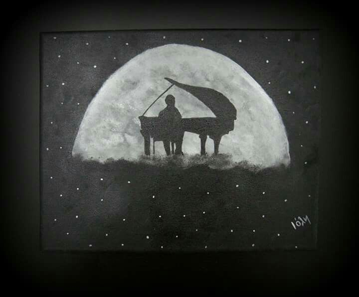Music at the moon