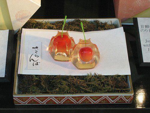 Японские сладости – вагаси (японская кухня)
