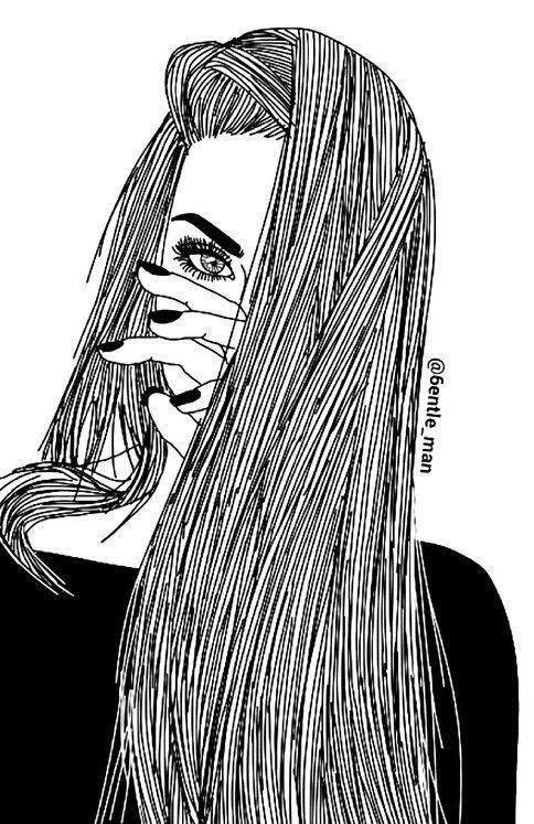 Resultado de imagen para chicas tumblr dibujadas