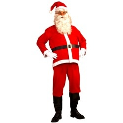 Adult Disposable Santa Claus Costume www.grabevery.com