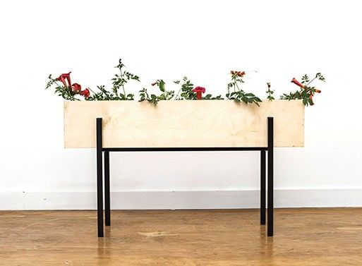 Linear Box Planter — ACCESSORIES -- Better Living Through Design