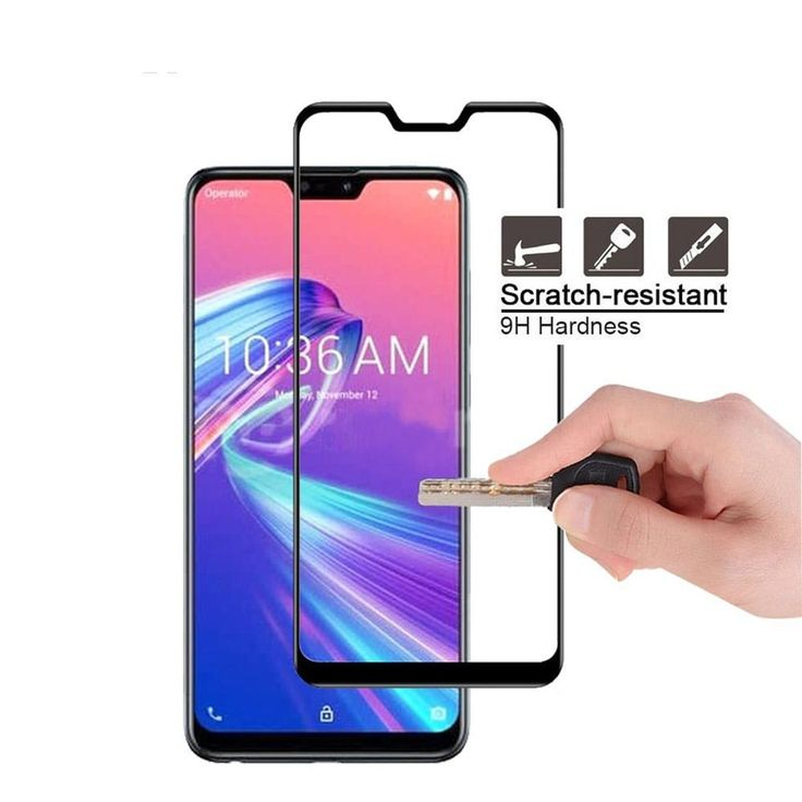 Tempered Glass Screen Protector for Asus Zenfone Max Pro